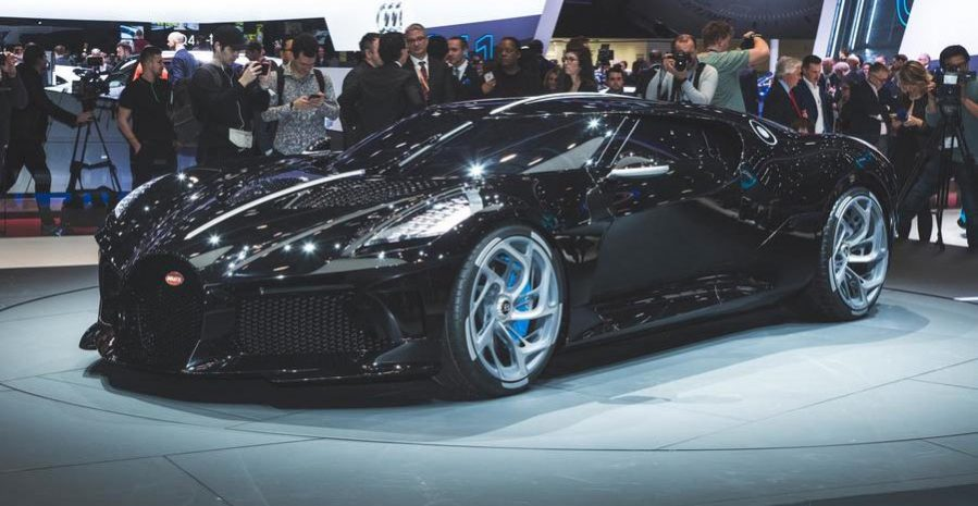 Bugatti La Voiture Noir Geneva 2019