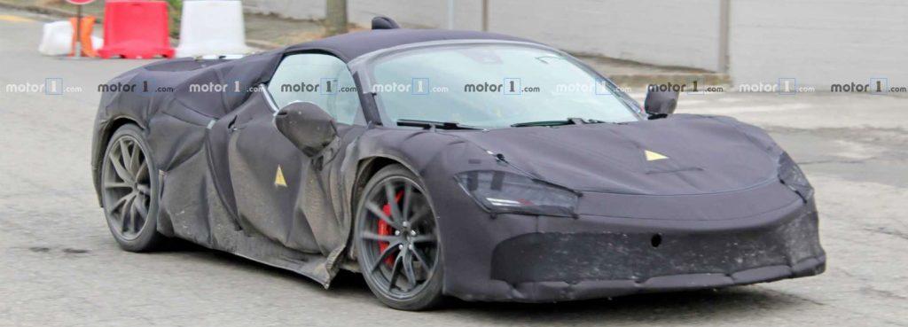 New Secret Ferrari Hybrid 1000bhp