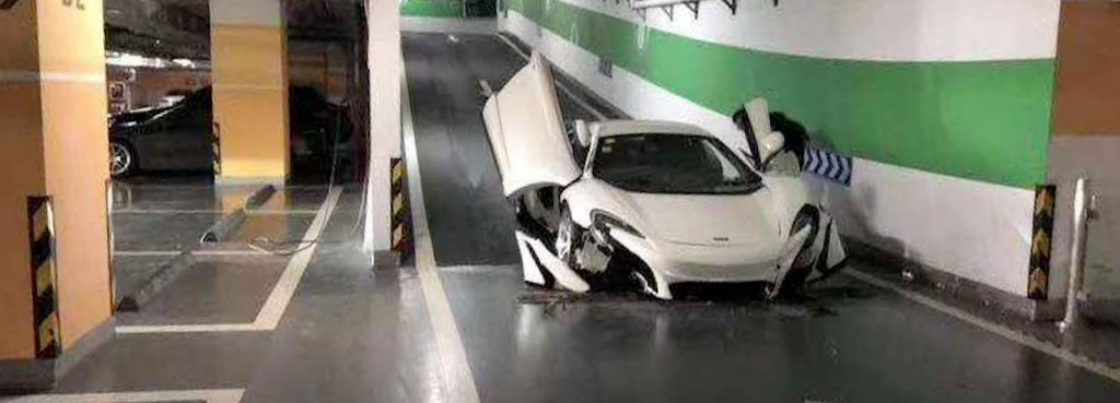 When Parking a Supercar Goes Wrong