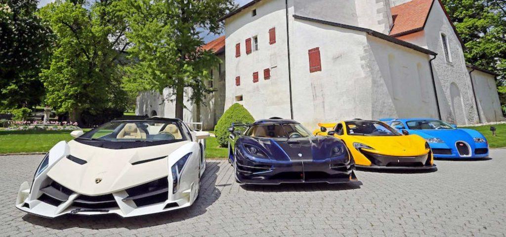 Bonhams Supercar Auction Cars