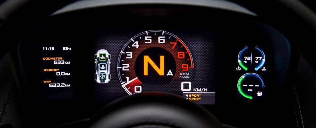 McLaren 570s Interior Dashboard