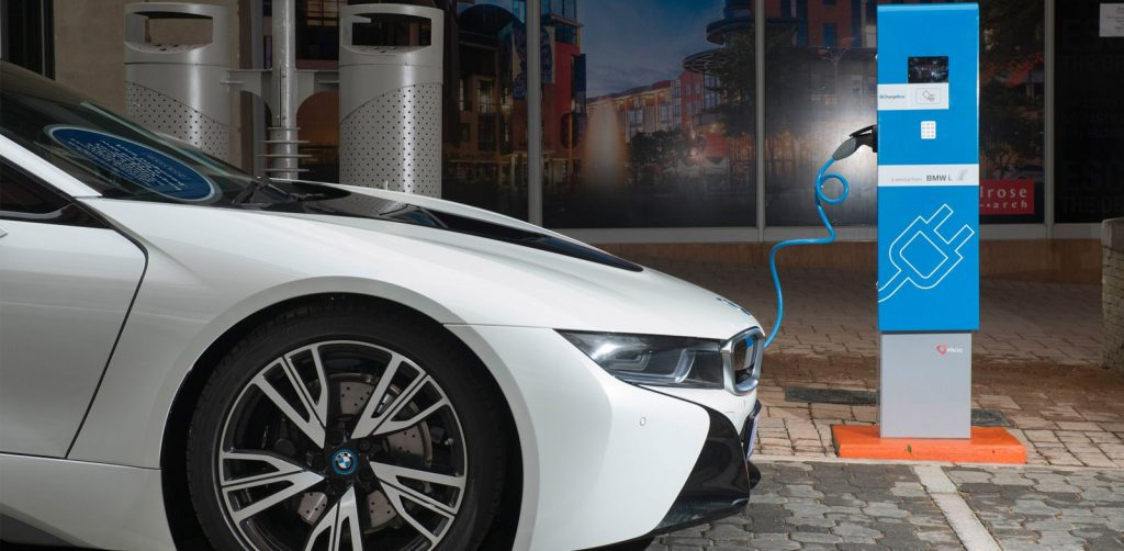 BMW i8 Charging Point