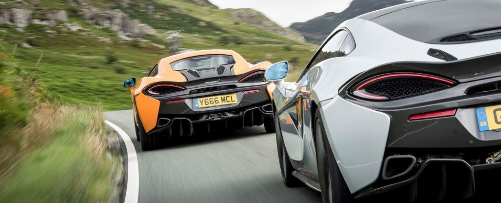 McLaren 540C vs 570s