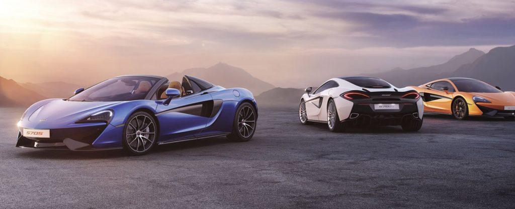 McLaren Full Car Range