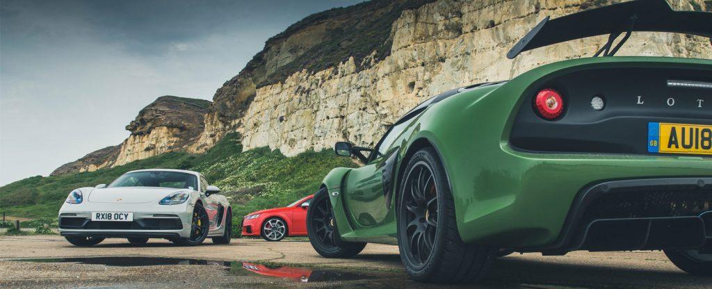 Porsche 718 GT4 vs Lotus Exige Sport 410