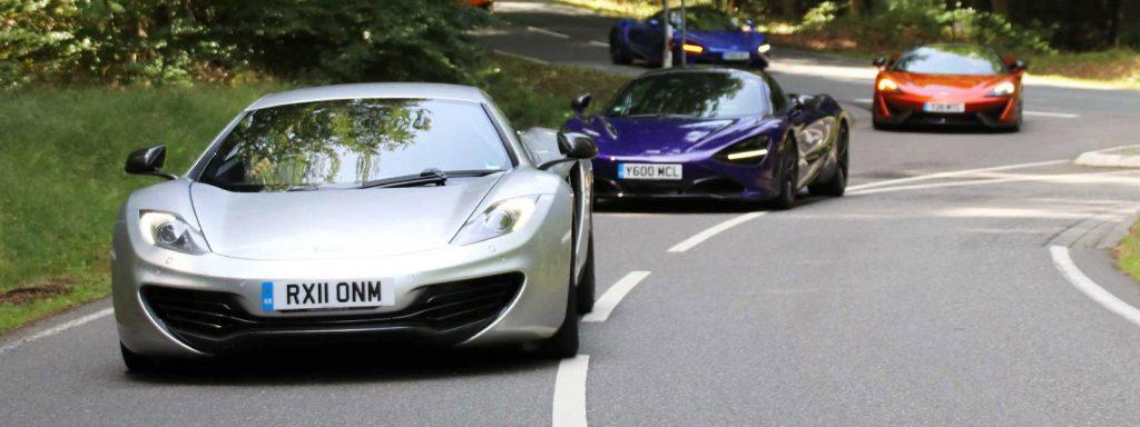 McLaren 12C vs 720S
