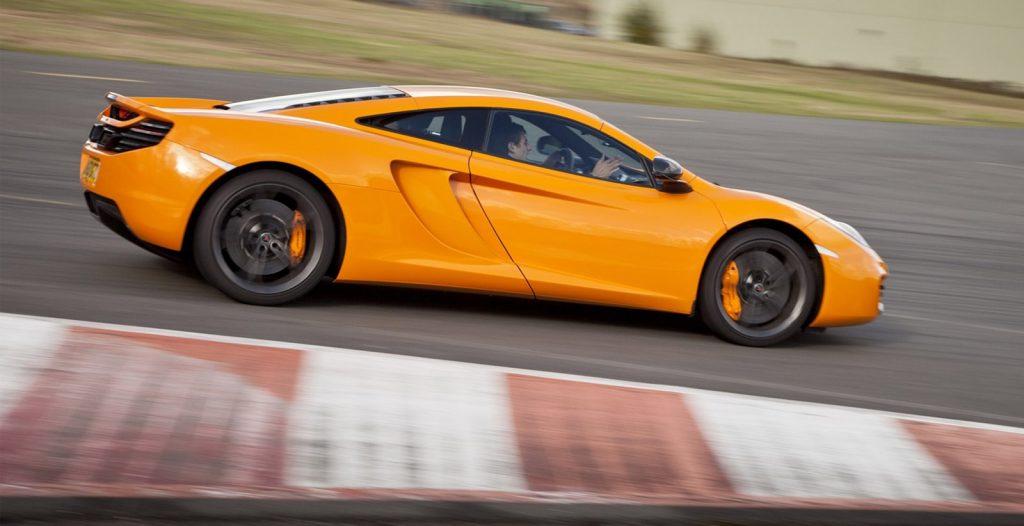 McLaren 12C Track Day