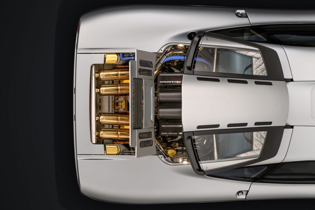 Restored McLaren F1 Engine Bay