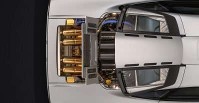 Restored McLaren F1 Engine Bay