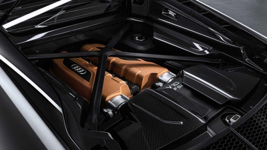 Audi R8 V10 Decennium Engine