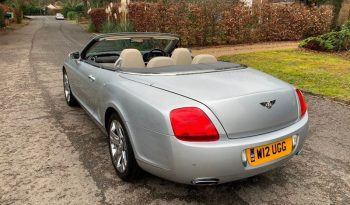 Bentley Continental 6.0 GTC 2dr full