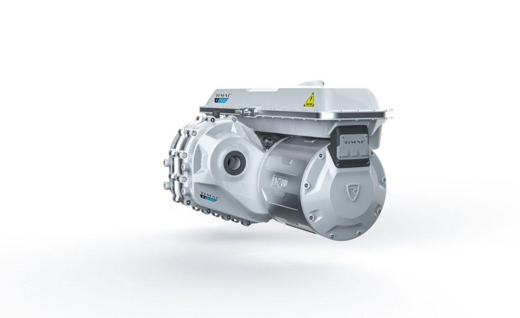 Rear motors in RImac C Two