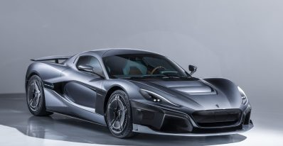 Rimac C Two three quarter