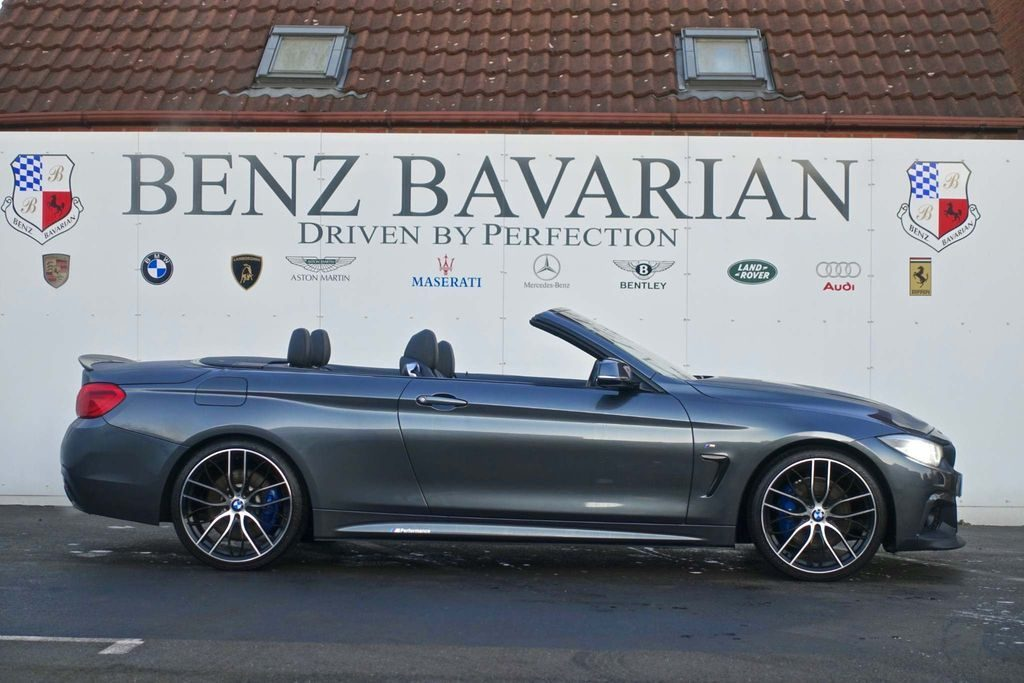 BMW 4 Series 2.0 420d M Sport Auto (s/s) 2dr full