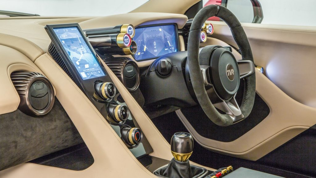 Interior shot of 2020 Griffith