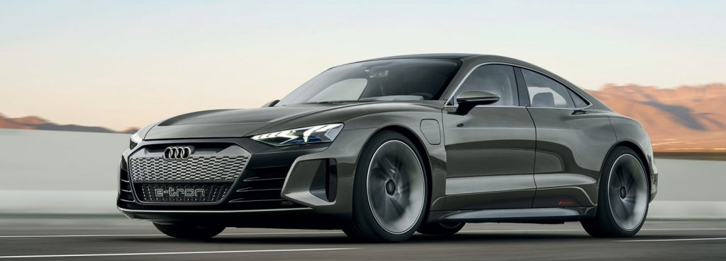 Audi E-Tron Concept Car Replacing Audi TT