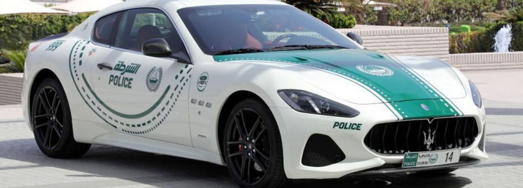 Maserati Granturismo Police Car