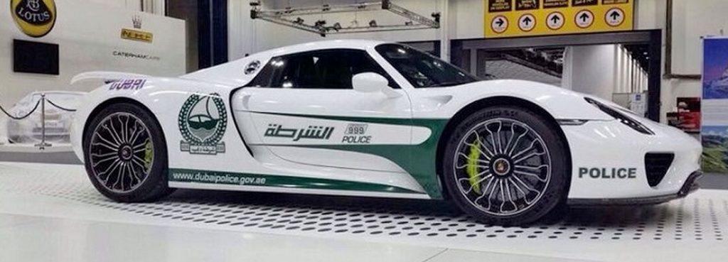 Porsche 918 Spyder Police Car