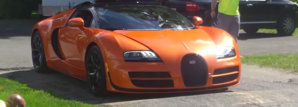 Supercar Scraping Ground