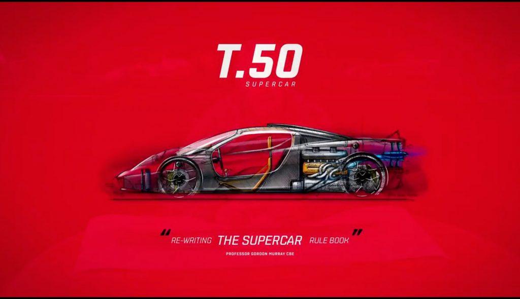 Gordon Murray T50 Revealed