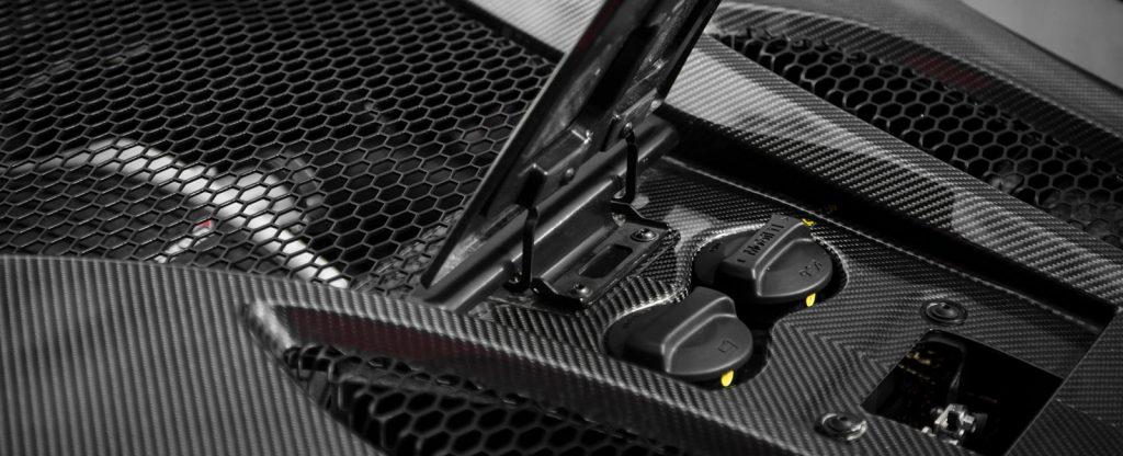 McLaren 570s Engine Bay Cover