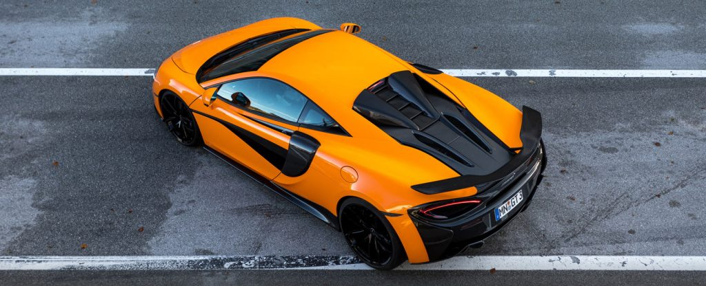 McLaren 570s Orange