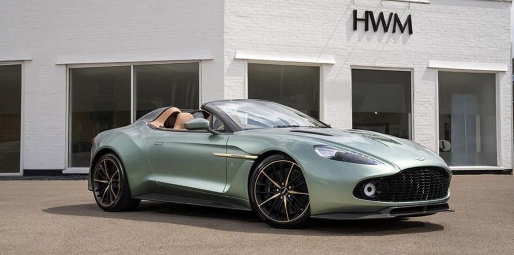 Aston Martin Vanquish Zagato Speedster For Sale