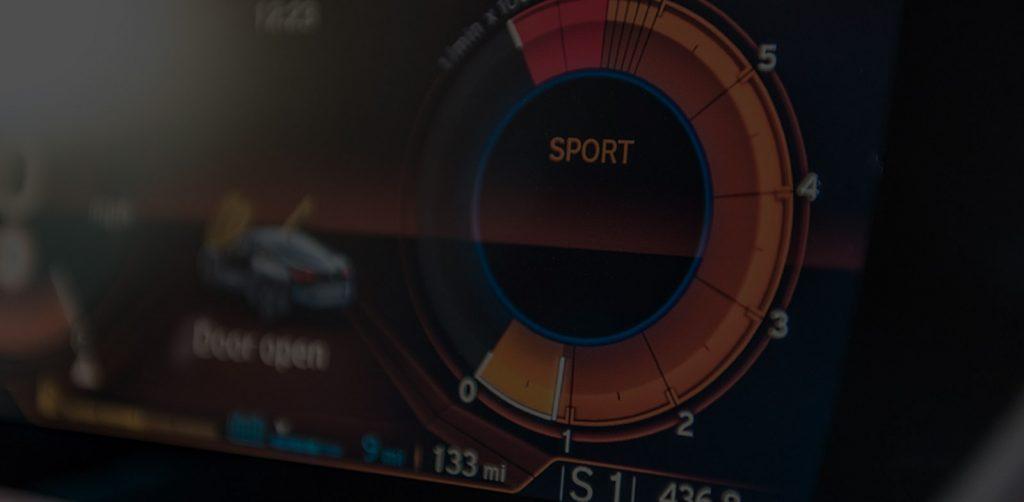 BMW i8 dashboard