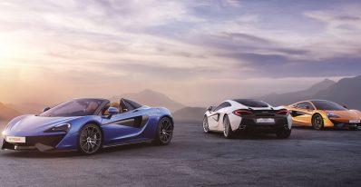 McLaren Car Range