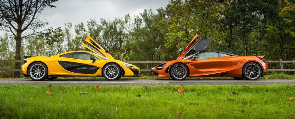McLaren P1 vs 720S