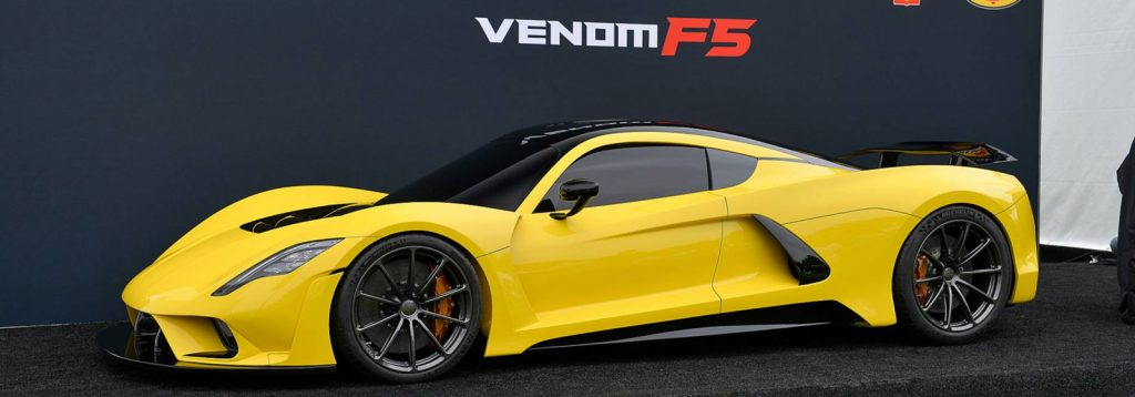 Hennessey Venom F5 Launch