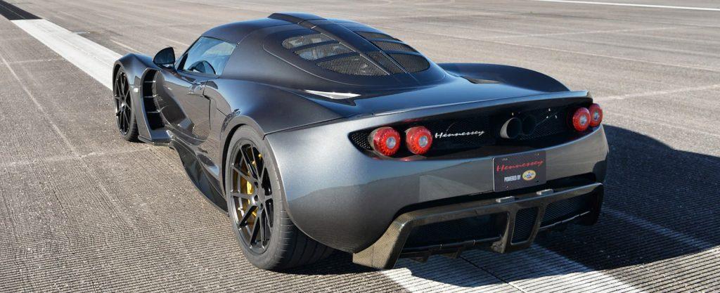 Hennessey Venom GT Rear Angle