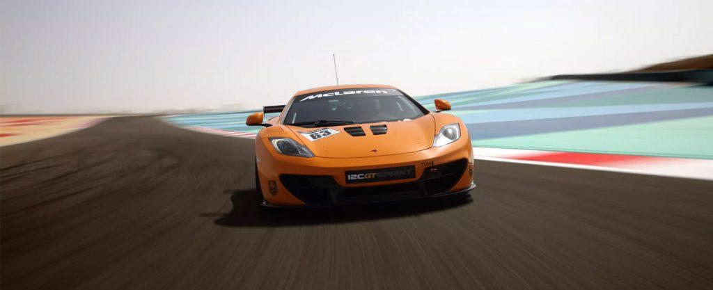 McLaren 12C GT3 Track Car