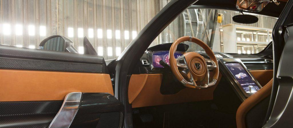 Puritalia Berlinetta Supercar Interior