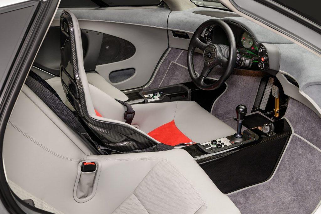 Restored McLaren F1 Interior