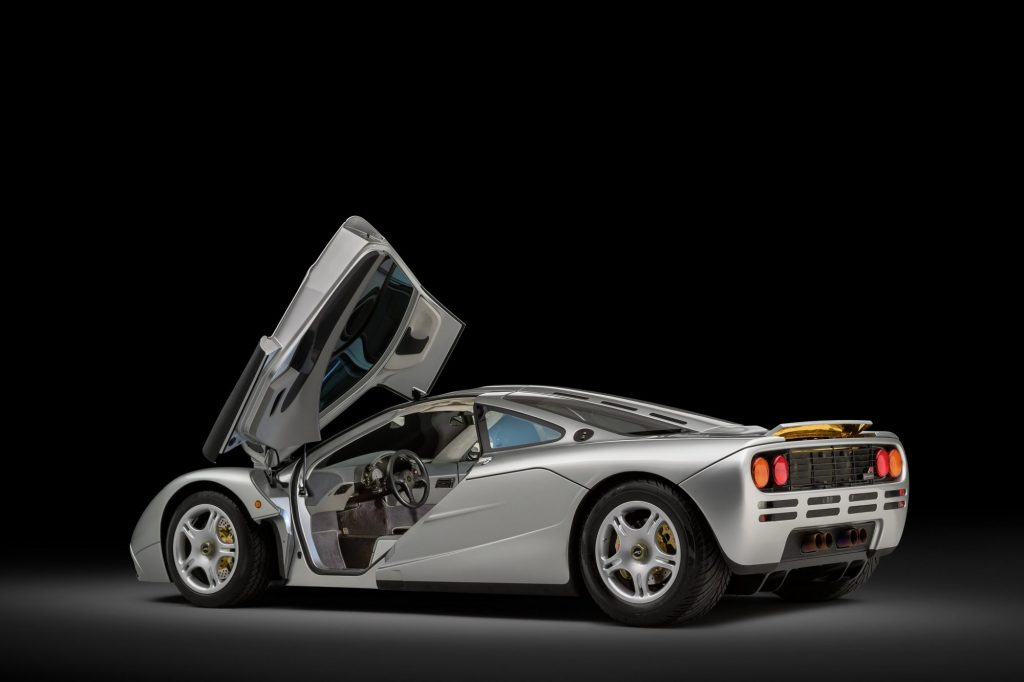 Restored McLaren F1 Rear Quarter