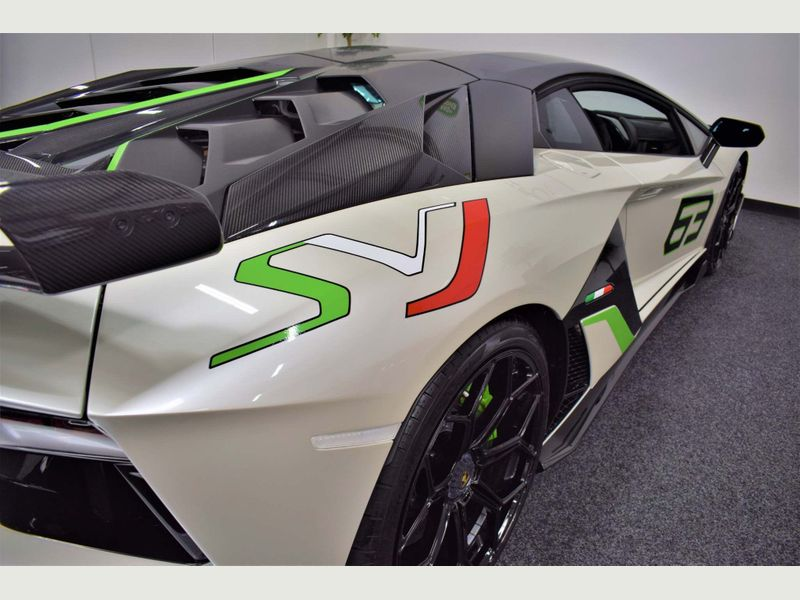 Lamborghini Aventador 6.5 V12 LP 770-4 SVJ ISR 4WD 2dr full