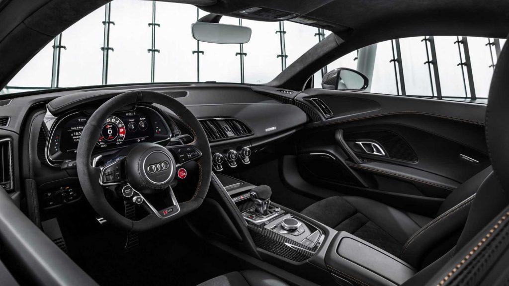 Audi R8 V10 Decennium Interior