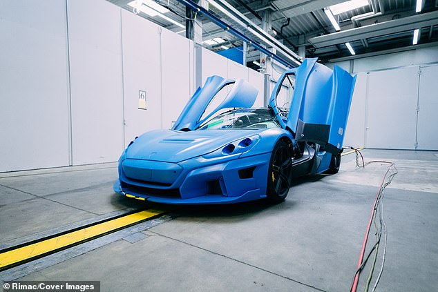 Rimac C Two prepares for testing