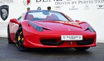 Ferrari 458 4.5 Spider Auto Seq 2dr full