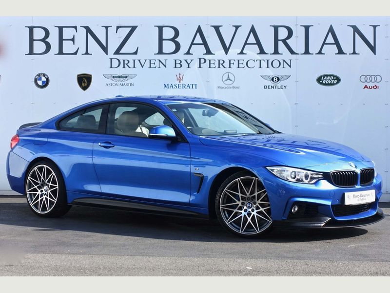 BMW 4 Series 3.0 435d M Sport xDrive 2dr full
