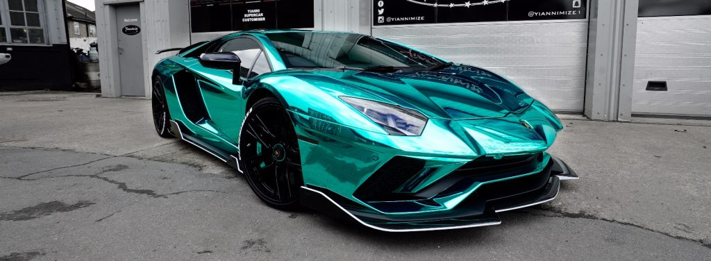 Supercar Wrapping