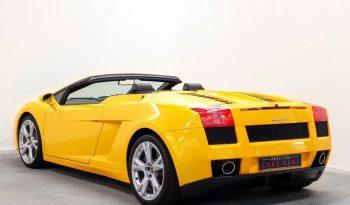 Lamborghini Gallardo Spyder 2dr E Gear 5.0 full